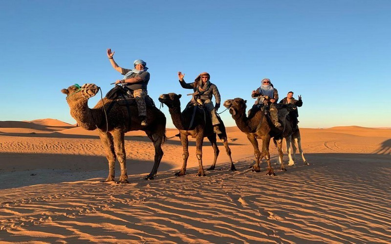 desert camp Merzouga