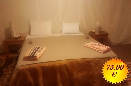 overnight in Luxury camp