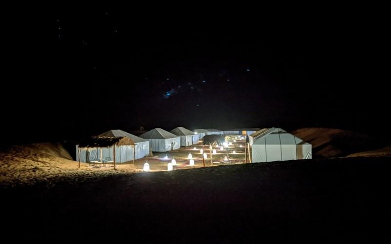 1 night in luxury desert camp
